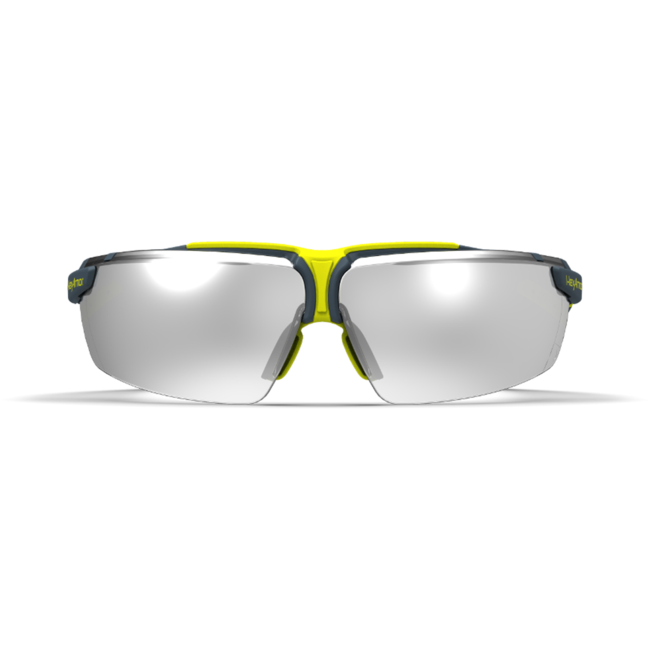vs300 silver mirror safety glasses front view