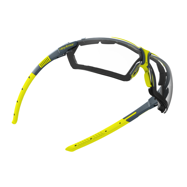 vs300g clear gasketed safety glasses float view