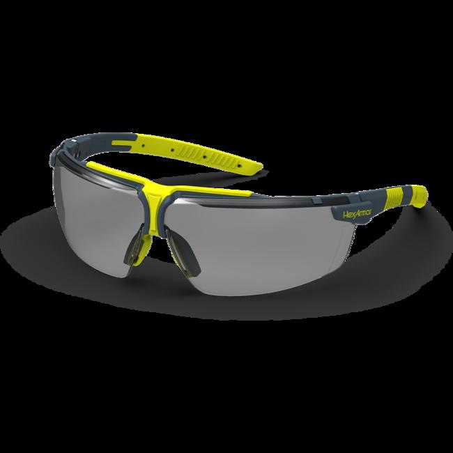 vs300s grey safety glasses standard view