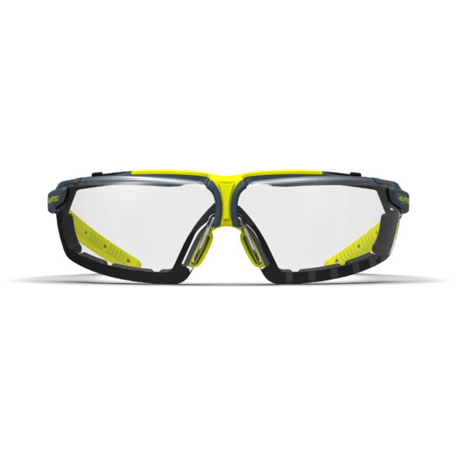 vs300sg clear gasketed safety glasses front view