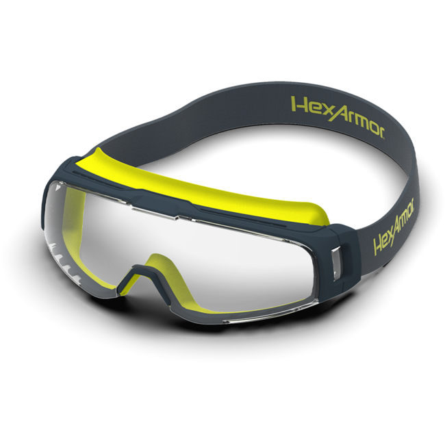 vs350 clear safety goggles standard view