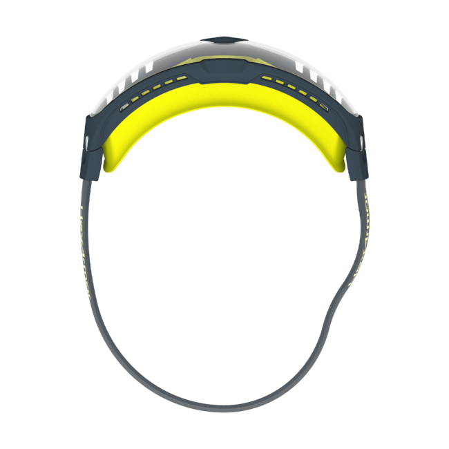 vs350 clear safety goggles top view