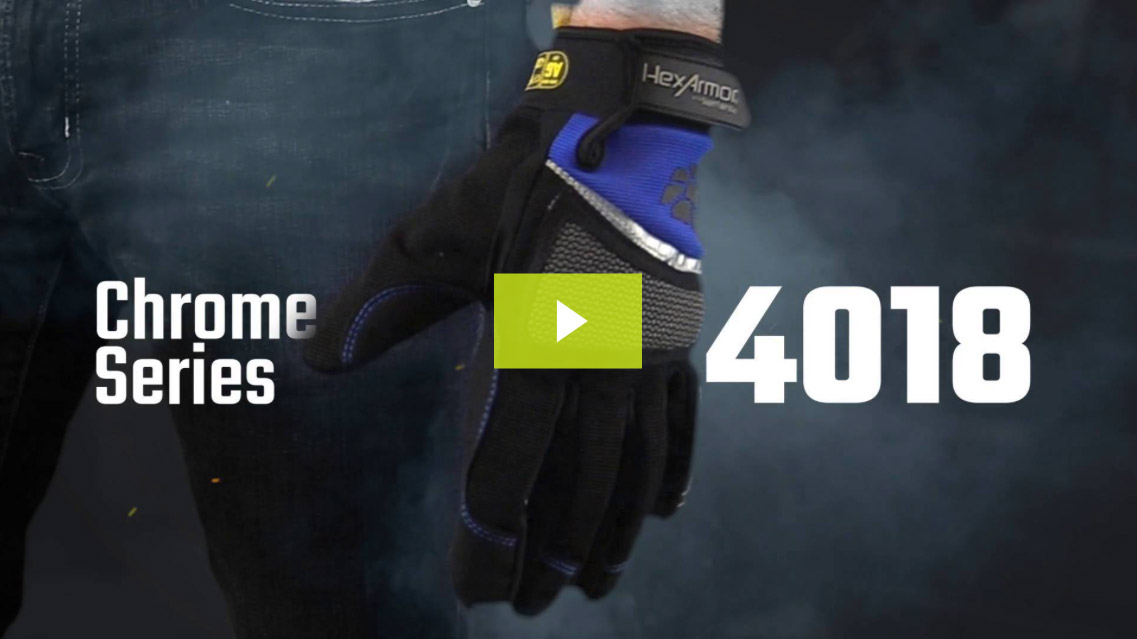 Cut 5 Mechanic Work Gloves | Chrome Series® 4018