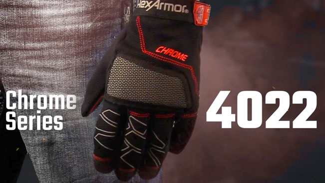 Cut 5 Mechanic Work Gloves | Chrome Series® 4022