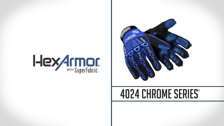 Anti-Vibration Gloves | Chrome Series® 4024