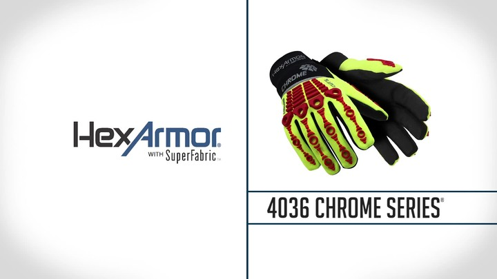 Waterproof Safety Gloves | Chrome Series® 4036