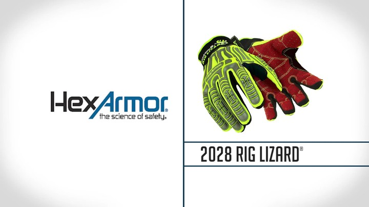 Dotted Palm Impact Gloves | Rig Lizard® 2028