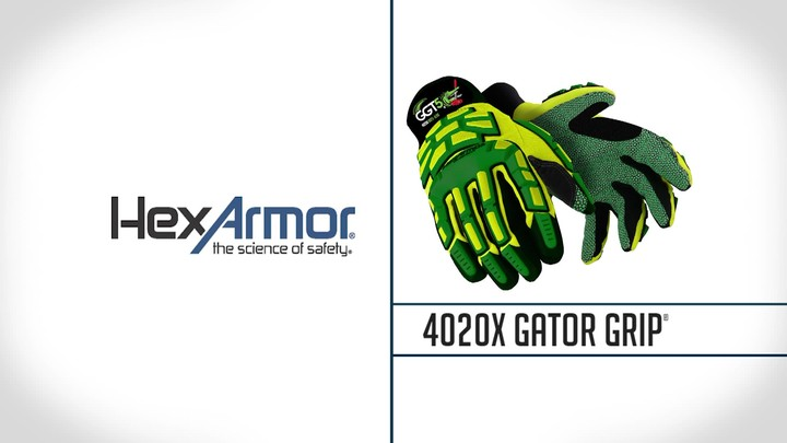 Cut & Impact Resistant Safety Gloves | GGT5® 4020X