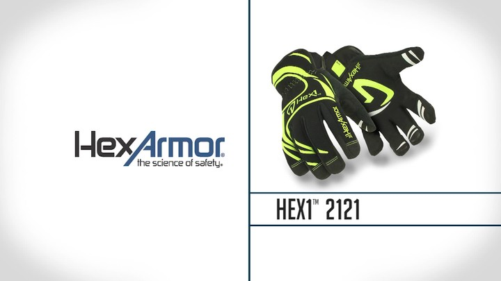 Industrial Safety Gloves | Hex1® 2121