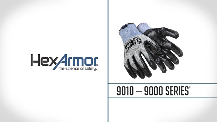 Nitrile Palm Coated Gloves | 9000 Series™ 9010