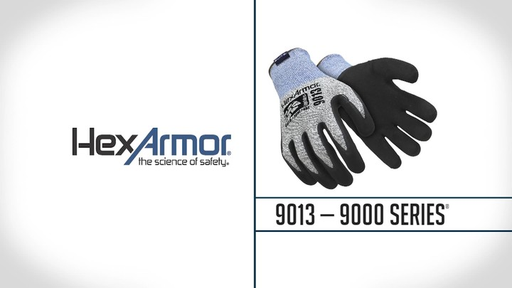 Sandy Nitrile Palm Coated Gloves | 9000 Series™ 9013