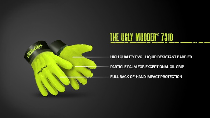 Chemical Resistant Work Gloves | Ugly Mudder® 7310