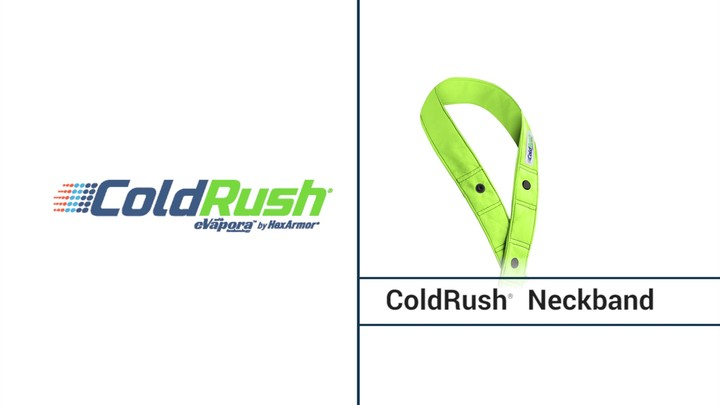 Cooling Neckband | ColdRush® Neckband