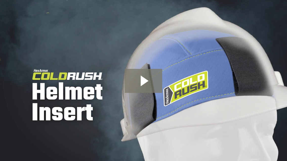 ColdRush® Hard Hat Insert Product Overview