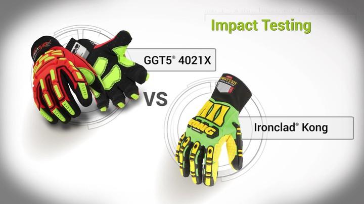 Impact Testing | GGT5® 4021X vs. Ironclad® Kong