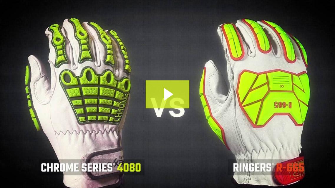 Cut Testing | Chrome Series® 4080 vs. Ringers® R-665