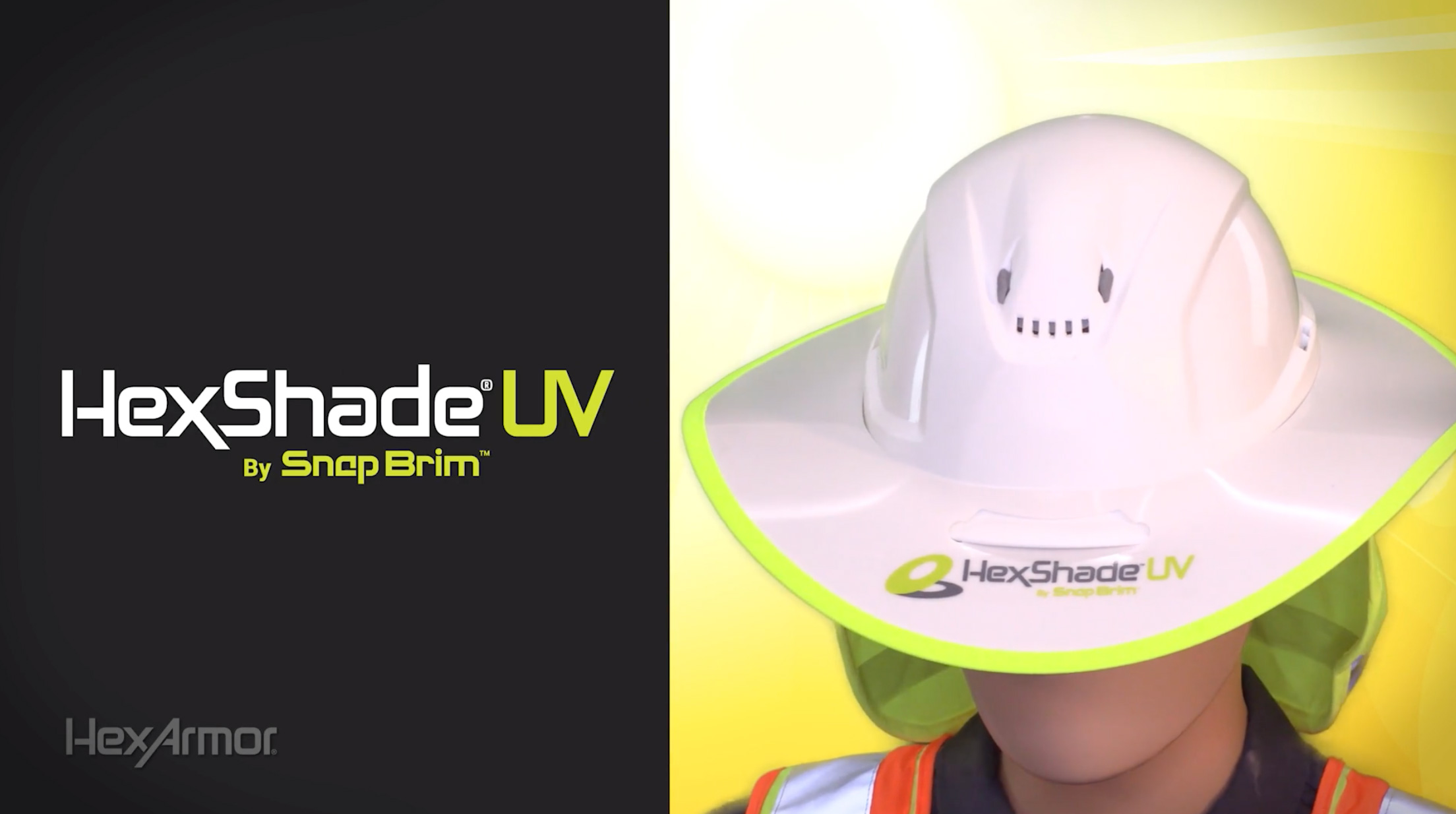HexShade® UV by SnapBrim™ | Fast, Cool, Relief | Product Overview