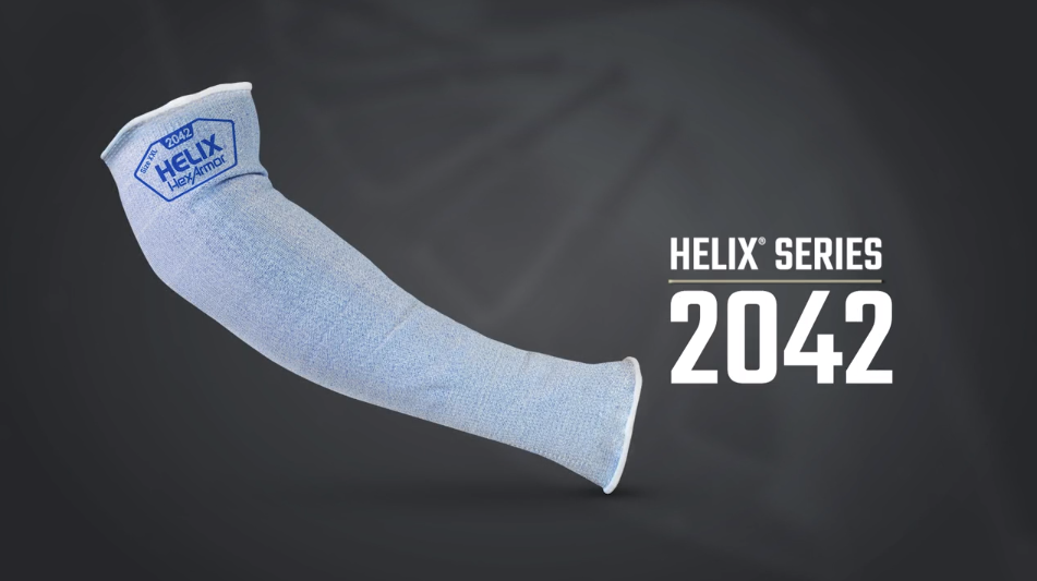 Helix® 2042 Cut Resistant Sleeve Product Overview