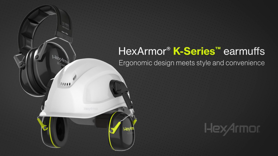 K-Series™ earmuffs product overview